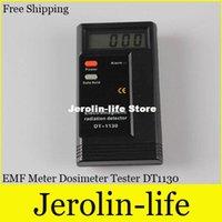 Wholesale 10pcs Digital LCD Electromagnetic Radiation Detector EMF Meter Dosimeter Tester DT1130