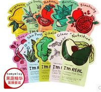 Wholesale 100 Original Korea Tonymoly Tony Moly I m REAL Seaweed Facial Mask Sheet