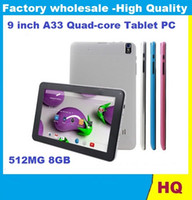 andriod tablet - Quad Core inch Tablet PC with Bluetooth flash MB GB A33 Andriod Ghz