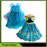 children party dresses - Frozen Fever Elsa Anna Dress Children s Party Dress Elsa Princess Costume Baby Girls Dress Frozen Dress Refly
