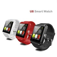 Wholesale Newly Arrivals All Mobile Compatible Bluetooth Outdoor Sport Watches Wrist Watch Sleep Tracker Function For Mobile U8 Smart Watches