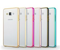 Wholesale High Quality Galaxy Mega2 G7508Q Metal Bumper Case For Galaxy Z1 Alpha G850 G360 G350 I9082 Grand2 G7106 Grand Prime G530 Retail package