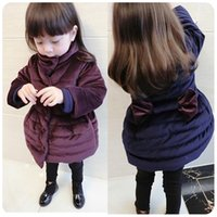 Wholesale In the winter of new girls in the long section of new cotton padded jacket s casual coat jacket thickening