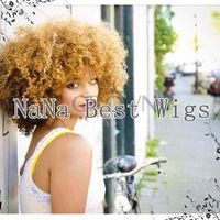 blonde human hair wigs - brazilian virgin kinky curly lace front wig human blonde human hair wig afro kinky curly blonde wig glueless front lace wig