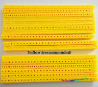 axle rod - ABS Plastic Strips Gearbox Bracket Toy Axle Rack Multi Rod Building Blocks Model Material Parts amp Accessories