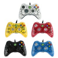 Wholesale USB Wired Game Controller Gamepad Vibration Feedback Game Controller Joystick for XBOX Console PC F1467