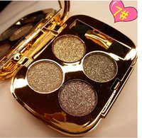 natural color diamond - 2015 Hot makeup Color Eyeshadow Palette cosmetics eye shadow Diamond shimmer Gold eye make up
