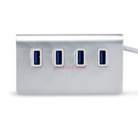 aluminium anodised - 3 USB Hub Port USB Hub Aluminium Hub Adapter for Apple Macbook Pro Mac PC Laptop Anodised Aluminium High Speed Hot