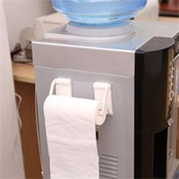 Wholesale 2014 New Poratble Magnetic Towel Rack for Refrigerator Practical Bathroom Accessories Paper Holders