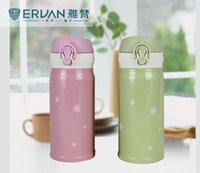 Wholesale Starbucks Snow Double Walled Vacuum Insulated Stainless Steel Water Bottle With Safety Lock Fit Car Houlder