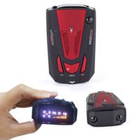 Wholesale GPS Radar Detector V9 Car Radar Speed Camera Detector With Voice Alarm For Mobile Police Radar And Fixed Camera