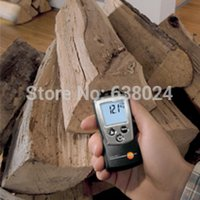 air moisture meter - Testo Wood and Material Humidity Meter Moisture Measure and NTC Air Temperature Thermometer