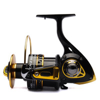 Wholesale Big game fishing reel spinning reel BB front drag BANDO KN2 Black Gold saltwater fishing tackle