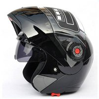 best open face motorcycle helmet - New Arrivals Best Sales Safe Flip Up Motorcycle Helmet With Inner Sun Visor Everybody Affordable JIEKAI