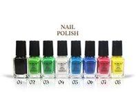 Wholesale 24 Colors Nail Polish Nail Art Decorations Colorful Nail Enamel Nails Varnish Easy Dry Nail Enamel Brand Polish Lacquer