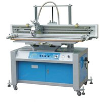 automatic screen printing machine - Flat Bed Screen Printer with Vacuum Table Flat screen printing machine Semi automatic flat screen printing machine Screen printing
