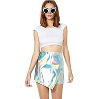 awesome pencils - 2016 Newest Style Top Fashion Sliver Skirt Above Knee Short Mini Pencil Skirt Awesome Women Skirts