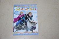 coloring book - Frozen Ice Princess Coloring Book Children Educational Cartoon Coloring Book