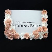airlines sign - XT Crystal Wedding Decoration Sign in Board Furnishing Wedding Frame Wedding Guest area Frame Wedding supplies