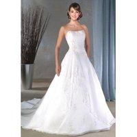 Wholesale 08 Custom Made bridal dress Wedding Dresses Formal Gown Evening Prom Dress