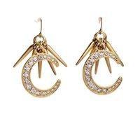 autumn earrings - 2015 early autumn fashion women jewelry moon earrings