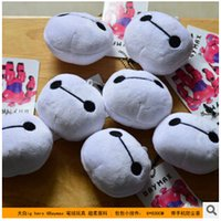 Wholesale 6 cm Hot Selling New High Quality Big Hero6 Baymax cell phone plush accessories Cell Phone plush Anti Dust Gadgets LJJC1095