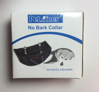 Wholesale 2015 New Dogs Train Anti Bark No Barking Tone Shock Training Collar For Small Medium Not Bark D5775