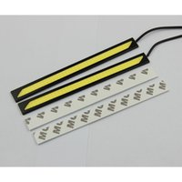 Wholesale Car Daytime Running Lights LED DRL Universal COB W LED V CM power White Car Auto Driving Ultra thin Lamp