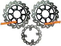 abs rotors - Front Rear Set Brake Disk Rotors For Kawasaki Ninja ZX6R ZX10R Z1000 ABS Z ABS order lt no