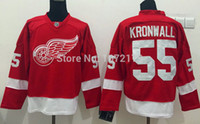 Cheap Factory Outlet, CHEAP HIGH QUALITY 2015 NIKLAS KRONWALL JERSEY MENS DETROIT RED WINGS RED HOME PREMIER STITCHED MENS HOCKEY JERSEYS SHIRTS