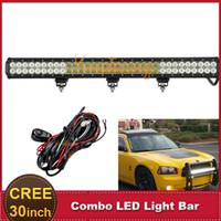 Cheap CREE 30 Inch 198W Offroad LED Light Bar Combo 12V 24V Car Auto DRL ATV SUV Truck Trailer Wagon 4X4 4WD AWD Fog Lamp Headlight