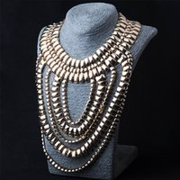 anniversary counter - Ladies necklace N00077 Europe and the big hot items jewelry fish long section of the multilayer big Necklace counter genuine