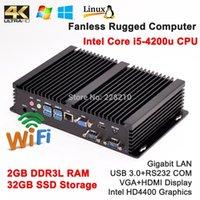 best selling hdtv - Best Sell OpenELEC XBMC G RAM G SSD Smart Mini Rugged Computer Intel Core i5 Haswell u HTPC HDMI HDTV k IR Remote Kiosk