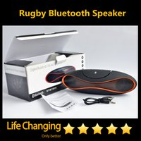 Wholesale Rugby Wireless Bluetooth Speaker QFX Portable Music Sound Box Subwoofer Loudspeakers Support TF FM USB Disk
