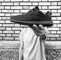 baseball retail - 2016 Y Boost With Retail Package Kanye West Sneakers Pirate Black Moonrock Turtle Doves Oxford Tan Men Women Running Shoes