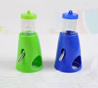 Wholesale 2 in Hamster Water Bottle Holder Dispenser With Base Hut Hamster Nest New