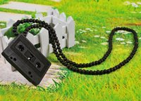 goodwood - European and American fashion tape wooden rosary necklace necklace jewelry hip hop goodwood