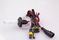 achat en gros de xénon h7 caché ampoule-35W bixenon DC xénon HID de l'HID H7 Xenon Pour phare de voiture de remplacement des lampes ampoule bi-xénon Salut / Lo faisceau 43k 6k 5K