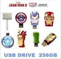 Wholesale NEW Iron Man3 hand Energy ring series gb USB Flash drive Memory drive Stick Pen ThumbCar USB disk
