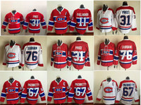 Wholesale Carey Price Montreal Canadiens Premier Home Ice Hockey Jerseys Pacioretty Hockey Jerseys Mix Order All Teams Hockey Jerseys