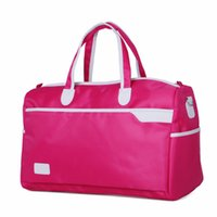 Wholesale New nylon travel bags unisex travel bag duffel bag large capacity light and handy women shoulder travel tote casual Bolsas