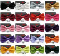 Wholesale Popular Man Women printing Bow Ties Neckwear children Kids bow ties Wedding Bow Tie High quality Bow ties