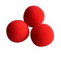 Wholesale New Fashion Close Up Magic Sponge Ball Brand Street Classical Comedy Trick Soft Red Sponge Ball X A1