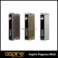 e-cig mods - Original Aspire Pegasus TC Mod VW W Battery Temperature Control Mod For Aspire Triton E Cig BOX MOD