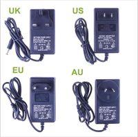 Wholesale New V A Power Supply Adapter For RGB Led Strip V V to V EU US AU UK Cord Plug LED Strips Transformer