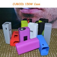 bagged vw - Newset Silicone Case Silicon Cases Bag Colors Rubber Sleeve protective cover silica gel Skin For Joyetech Cuboid W TC VW Box Mod