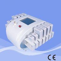 Wholesale Dual Wavelength nm nm Diode Laser Lipo Lipolaser Lipolysis LLLT Slimming Machine Diodes X nW pads
