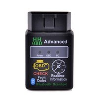 advanced cars - New Arrival HHOBD ELM327 Bluetooth Car Diagnostic Tool Advanced OBD Check Codes Realtime Information Auto Interface Test Detector