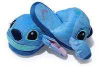 Wholesale Stitch Slippers Stitch plush toy New Cosplay Plush Doll inch Adult Slipper
