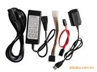 Wholesale New USB to IDE SATA S ATA HD HDD Hard Drive Adapter Converter Cable
